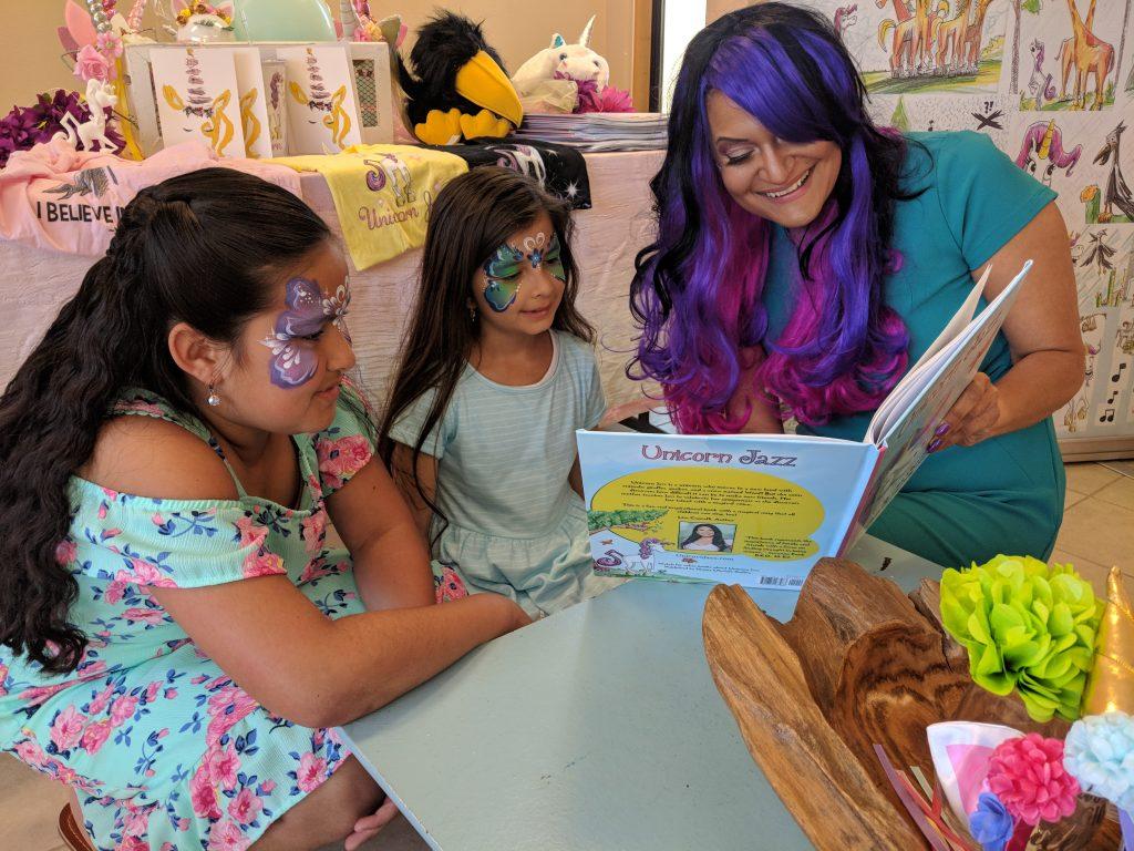 unicorn kid book unicorn birthday gift for girls