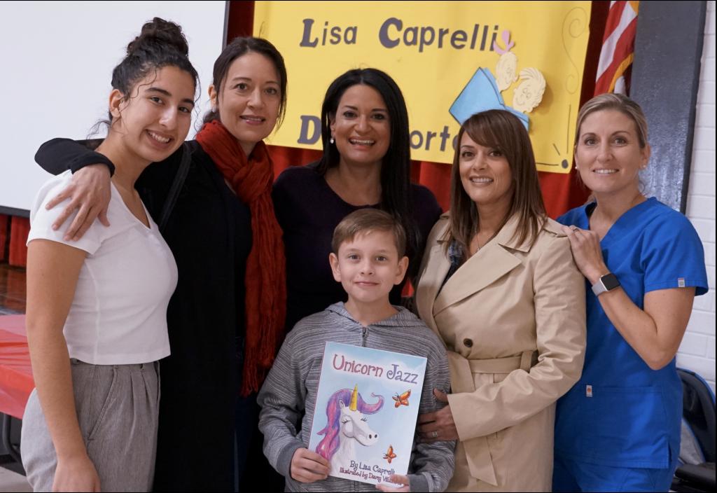 el norte elementary school author visit