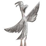Woof the Crow Unicorn Jazz copyright 2019