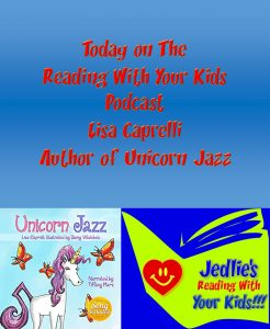 unicorn kids book podcast author visit