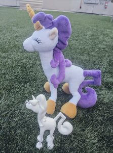 unicorn plush animal with childrens unicorn book unicorn jazz for birthday