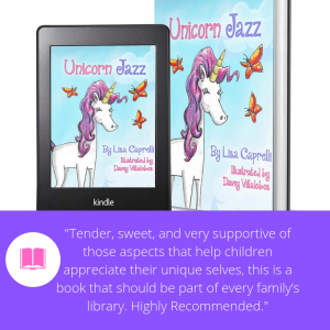 Unicorn Jazz review for unicorn kids book