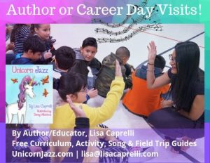 author visit lisa caprelli childrens unicorn book series