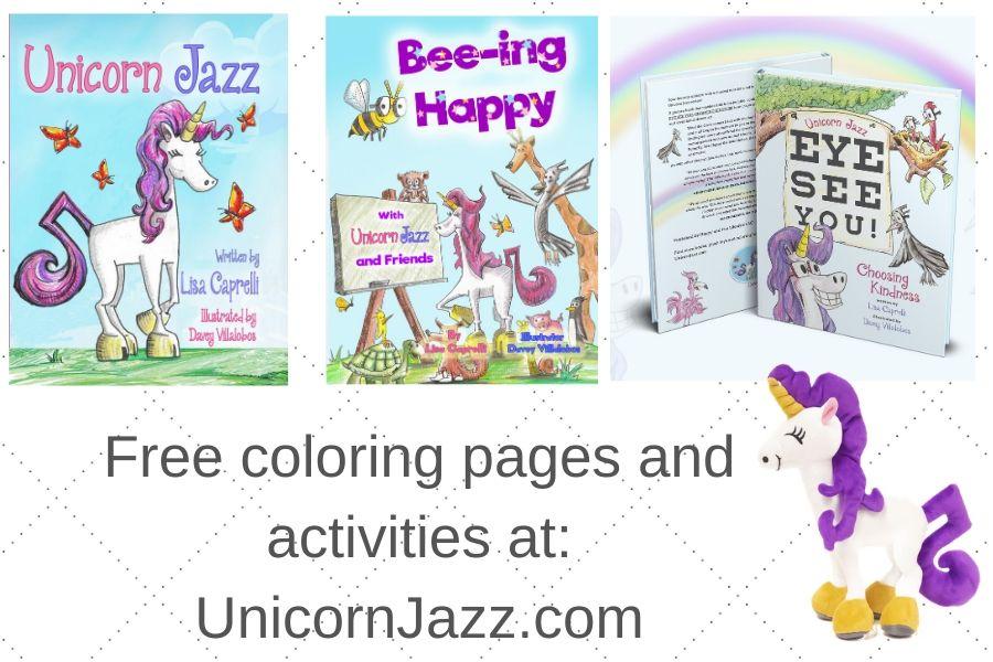 Social Emotional Learning Childrens books Unicorn Jazz