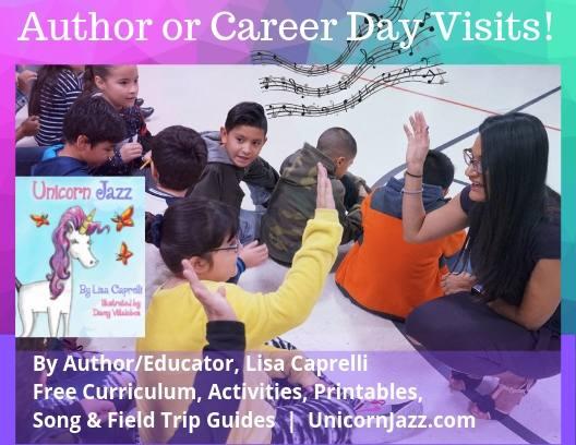 author visit lisa caprelli childrens unicorn book series