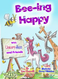 free childrens unicorn book series beeing happy
