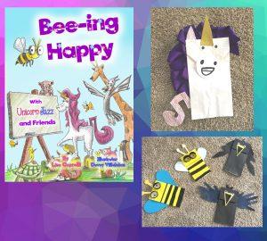 free paperbag puppet kit DIY