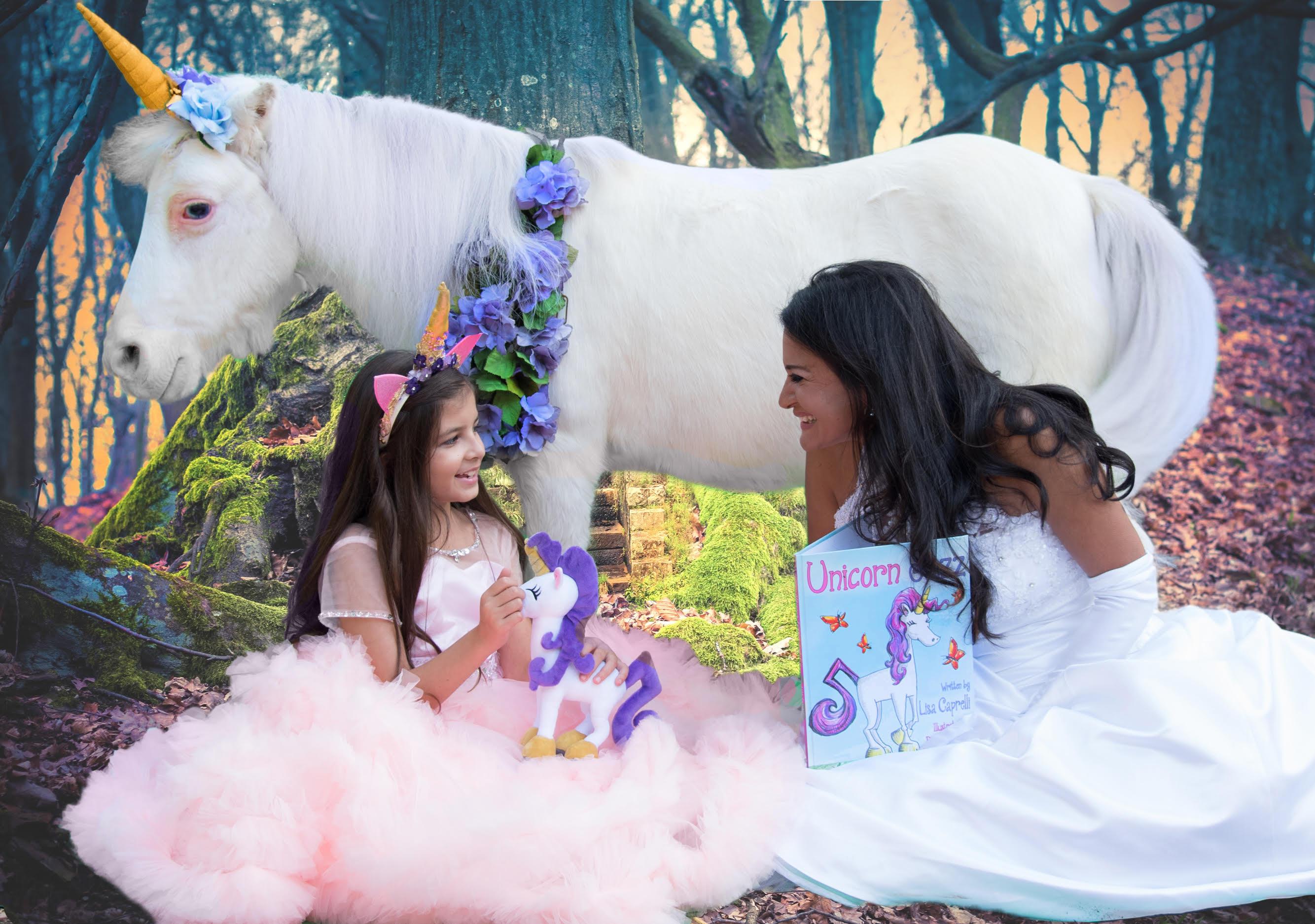 unicorn plush toy animal gift set