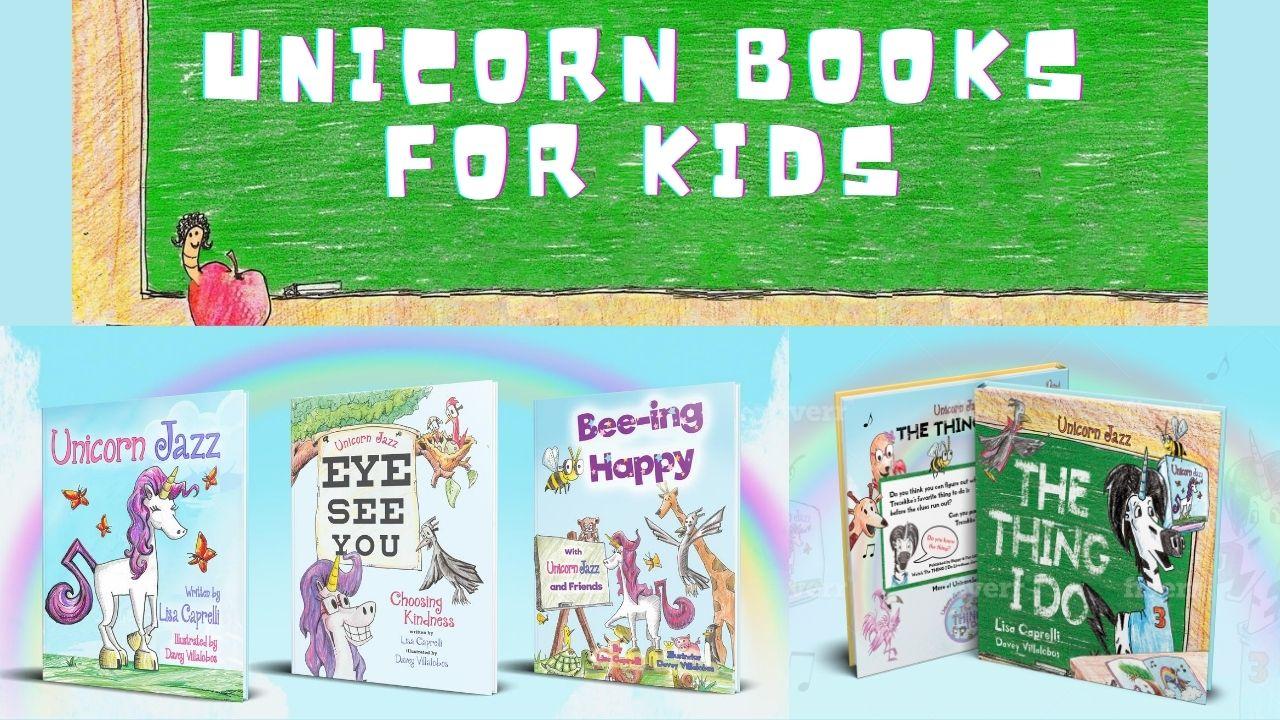 unicorn books for kids unicorn jazz series