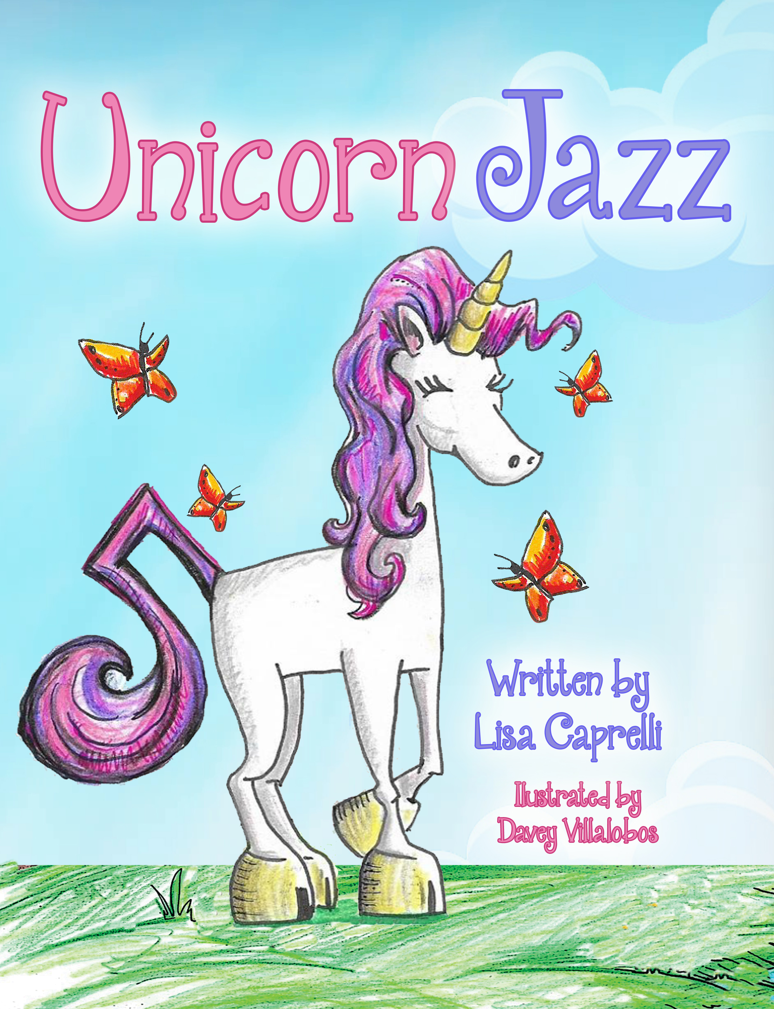 CHILDREN'S UNICORN BOOK WITH PLUSH TOY ANIMAL