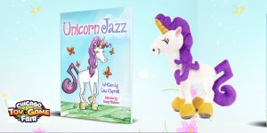 unicorn kids books gift set