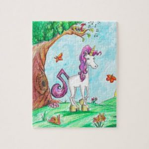 unicorn puzzle gift for girls