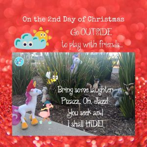 silly poem for kids 12 days of christmas