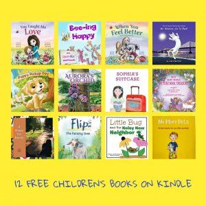 12 free cihldrens books on kindle
