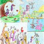 Unicorn Jazz illlustrations