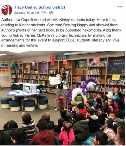 orange county childrens book author visit by lisa caprelli