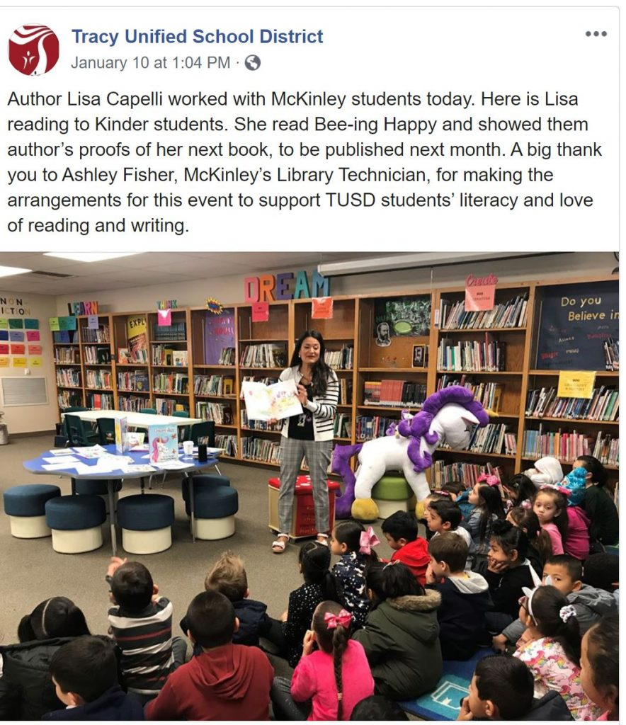 orange county childrens book author visit by lisa caprelli