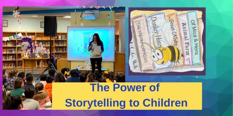 The Power of Storytelling to Children