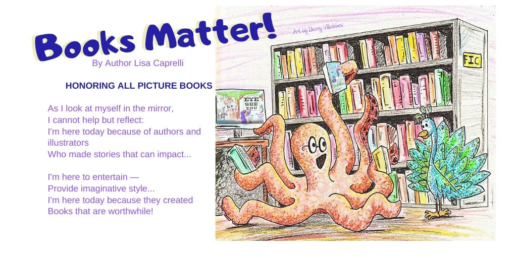 books matter poem by lisa caprelli