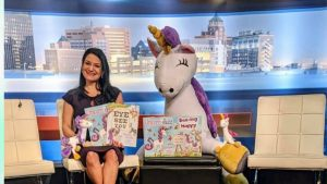 KVIA news tv childrens book author granting permission for stories to be read lisa caprelli