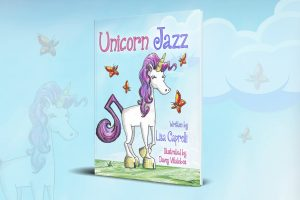 Best Unicorn Books for Children List - Unicorn Jazz (front cover)