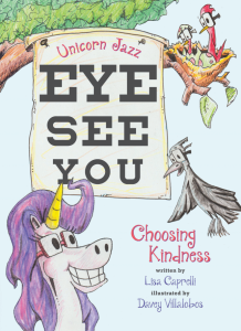Best Unicorn Books for Kids List - Eye See You (front cover)