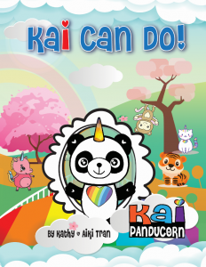Best Unicorn Books for Kids List - Kai Can Do (front cover)