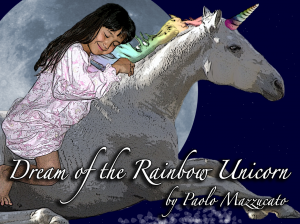 Best Kids Unicorn Books List - Dream of the Rainbow Unicorn (front cover)