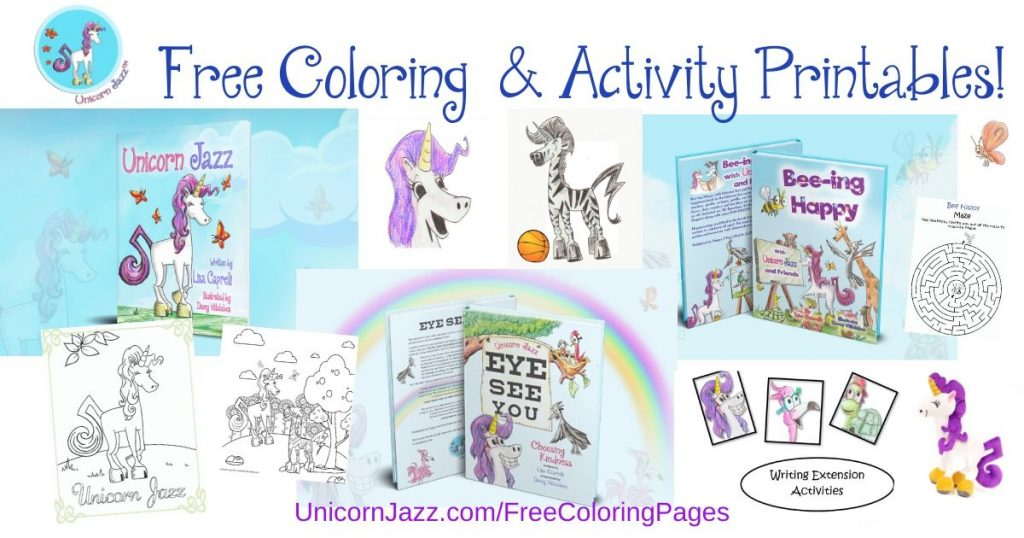 free unicorn stuff for kids