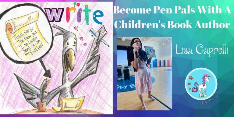 Pen Pals With A Children's Book Author