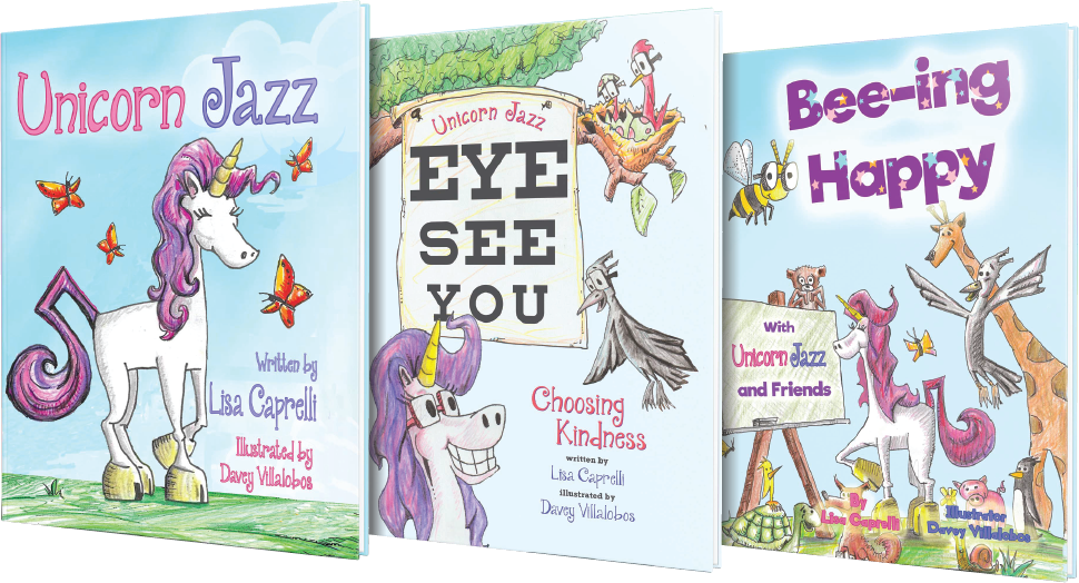 unicorn jazz book series