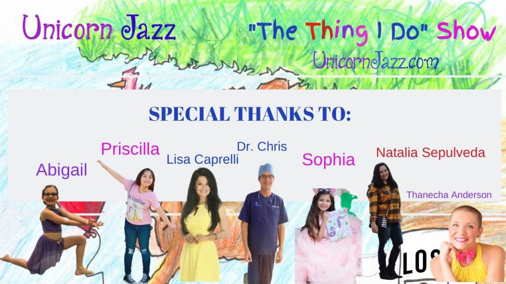unicorn book series the thing I do kids show
