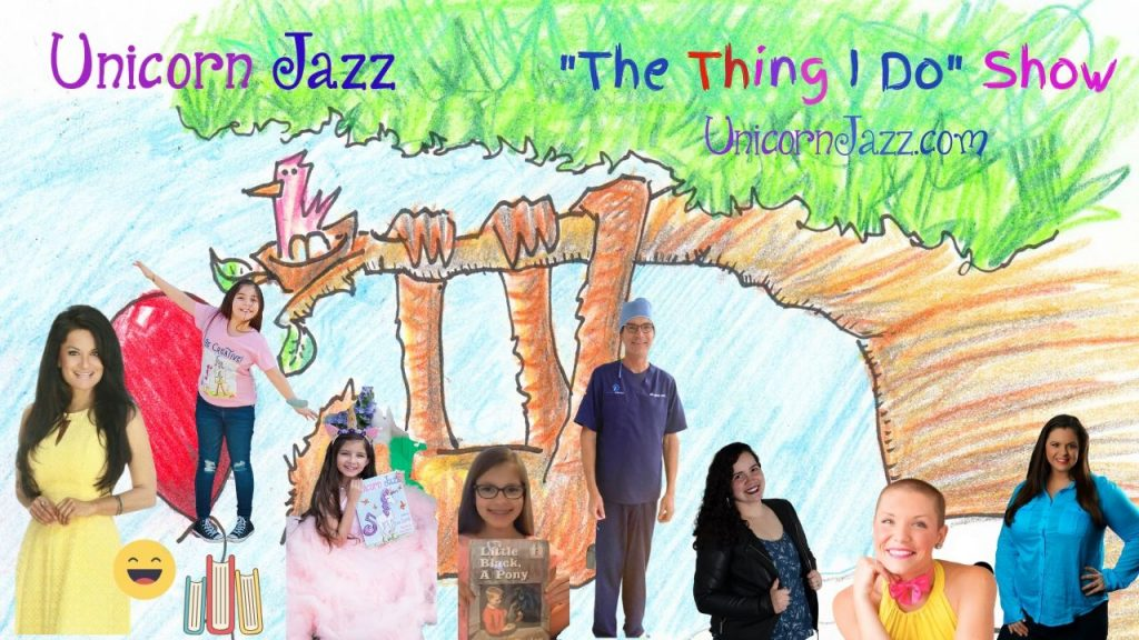 facebook live show for kids the thing i do unicorn jazz