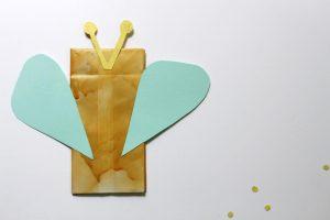 bee paper bag