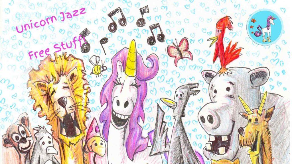 Unicorn Jazz Free Stuff