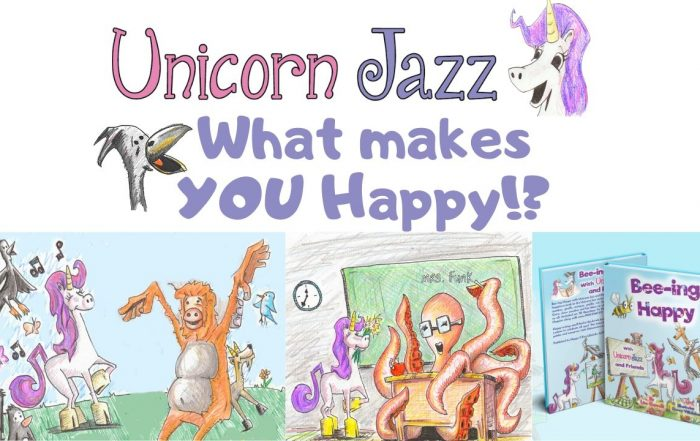Puppets and Happiness unicorn jazz the thing i do