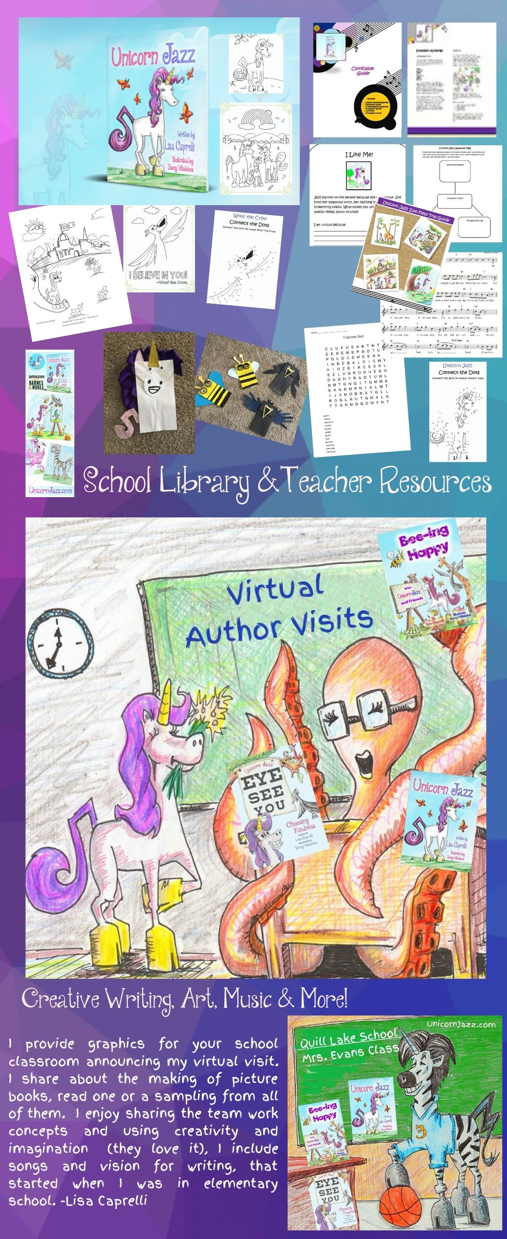 free virtual author visits for teachers