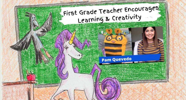 first grade teacher pam quevedo
