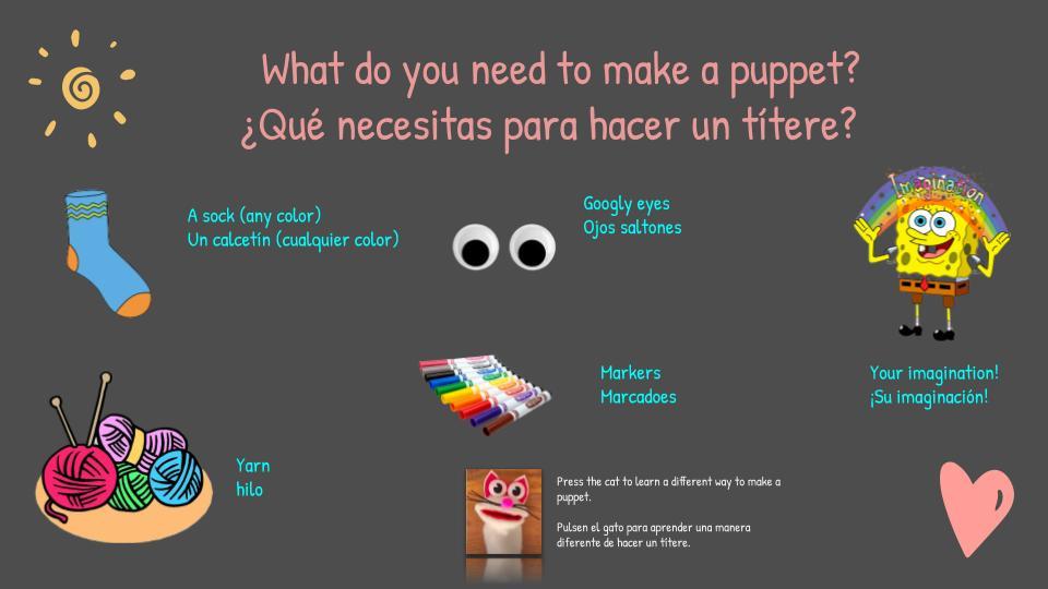 spanish teacher titeres