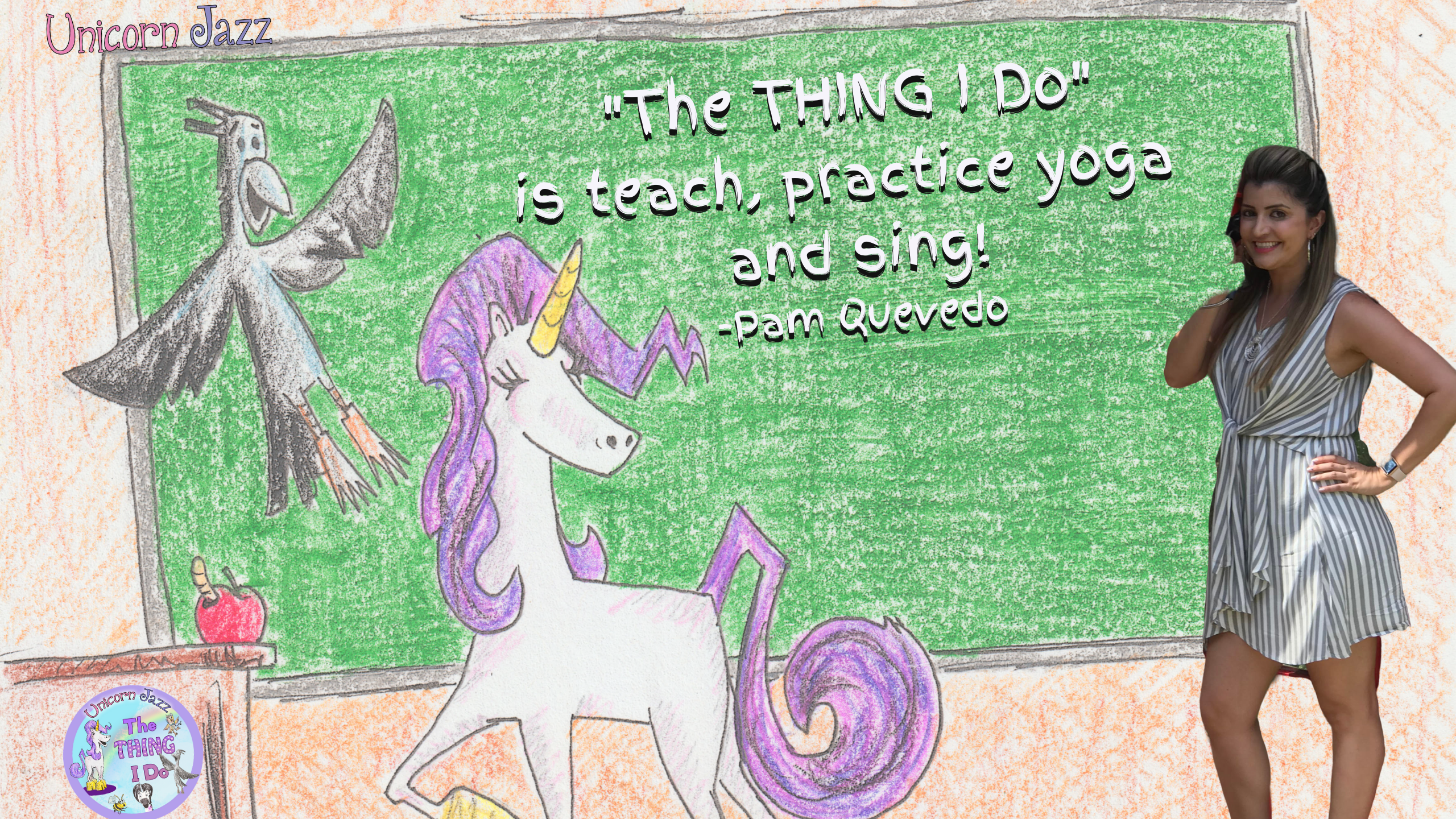unicorn jazz teacher puppet show