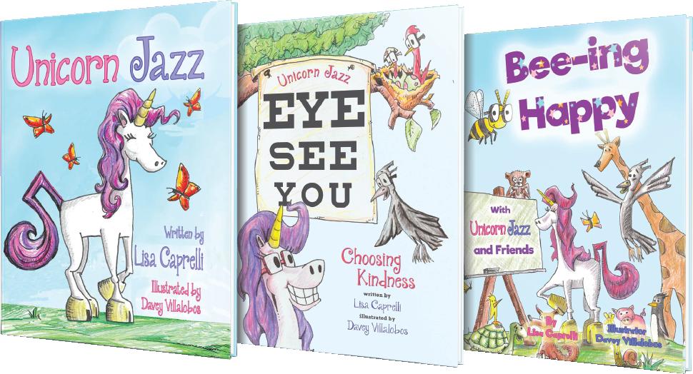unicorn jazz childrens unicorn book series