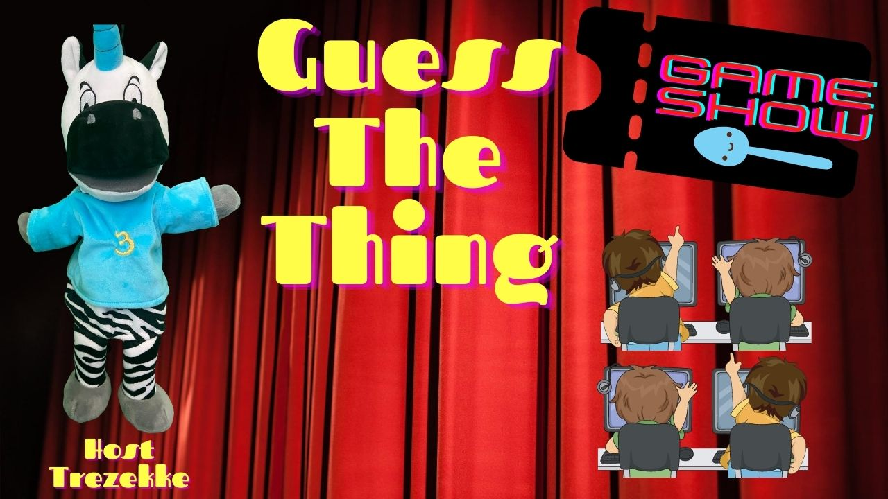 guess the thing game show trezekke puppet