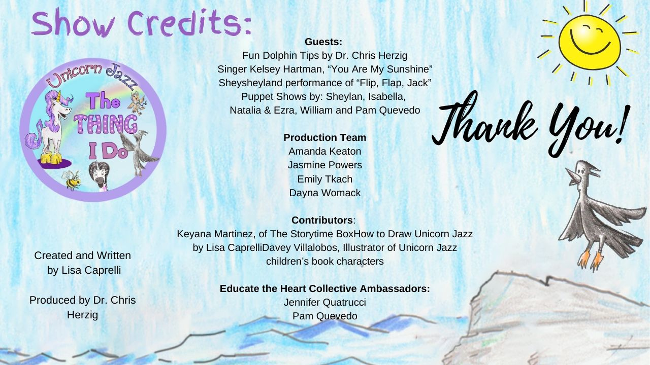 show credits for kids show