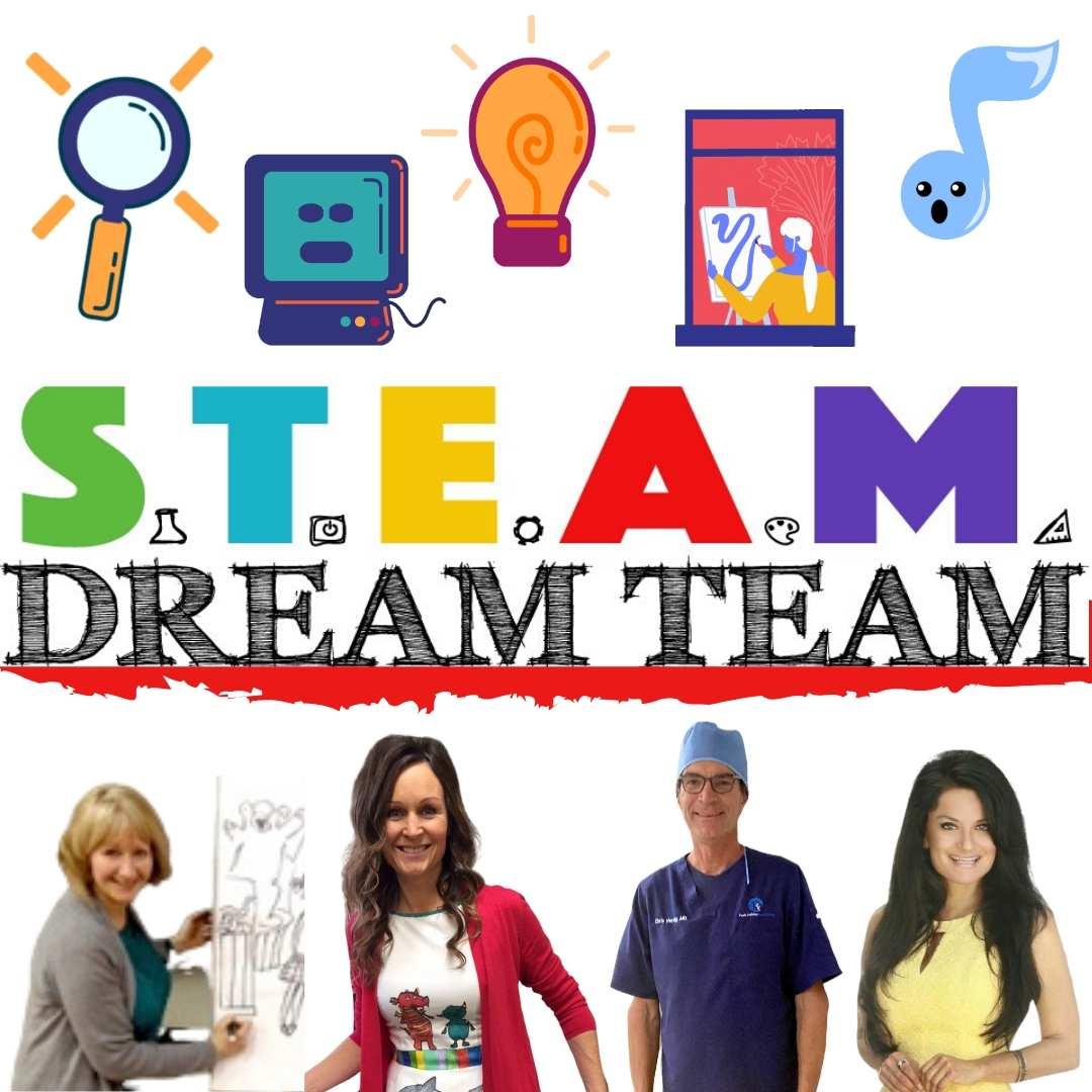 Steam stem virtual author visits lisa caprelli