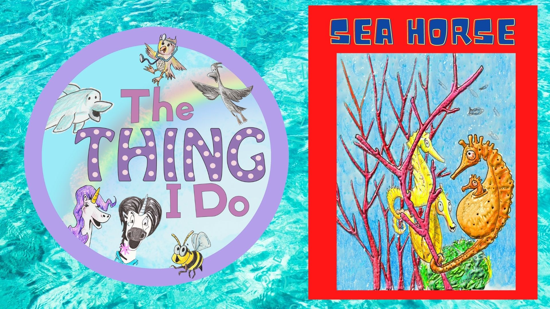 Exploring Marine Life For Kids on the thing i do kids talent show