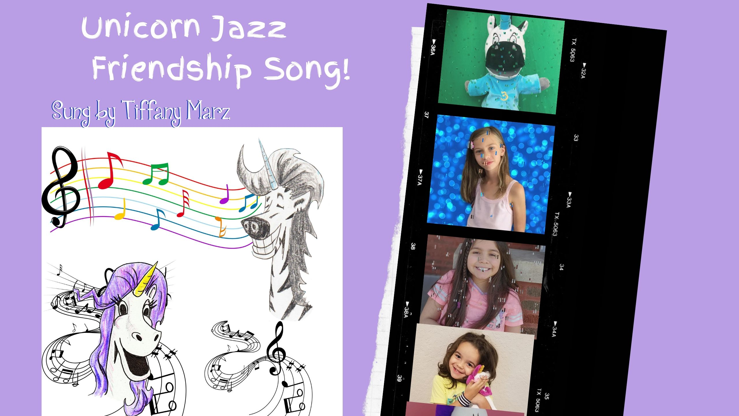unicorn jazz music video tiffany marz Kids Music Video