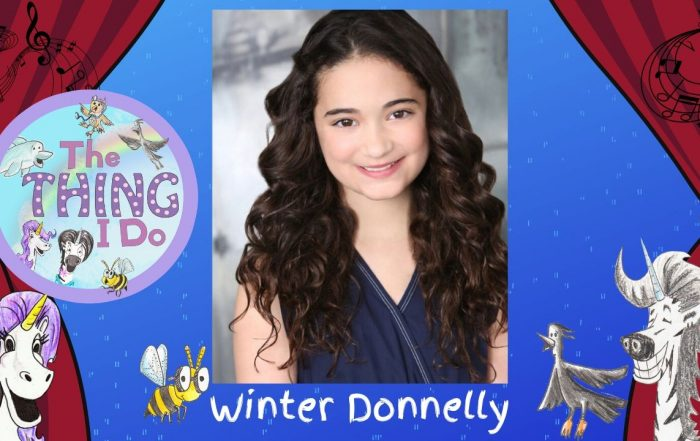 Winter Donnelly Frozen Inspires Audiences