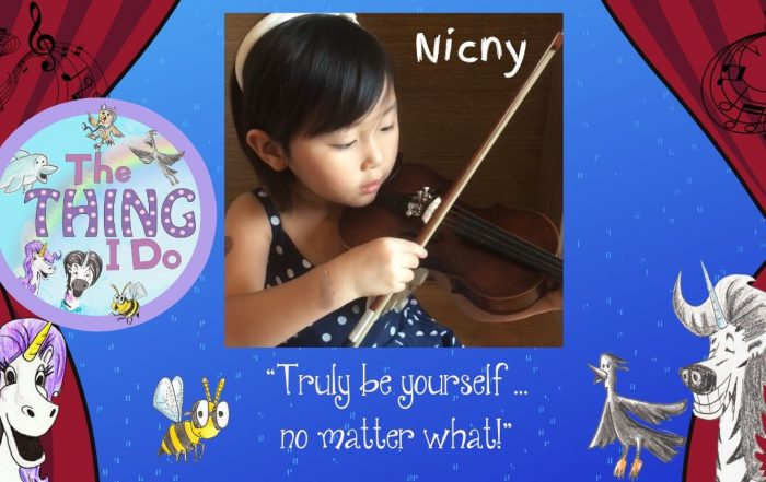 8 year old Musician and Storyteller Nicny
