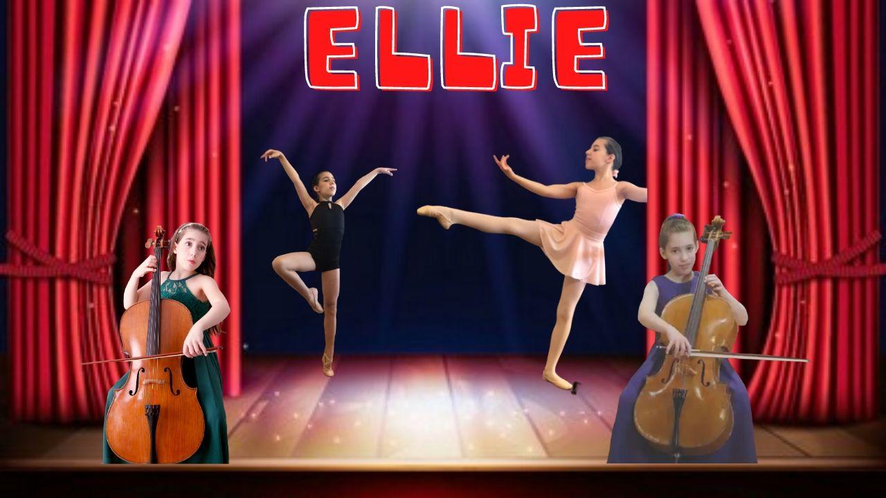 cellist and ballet dancer ellie
