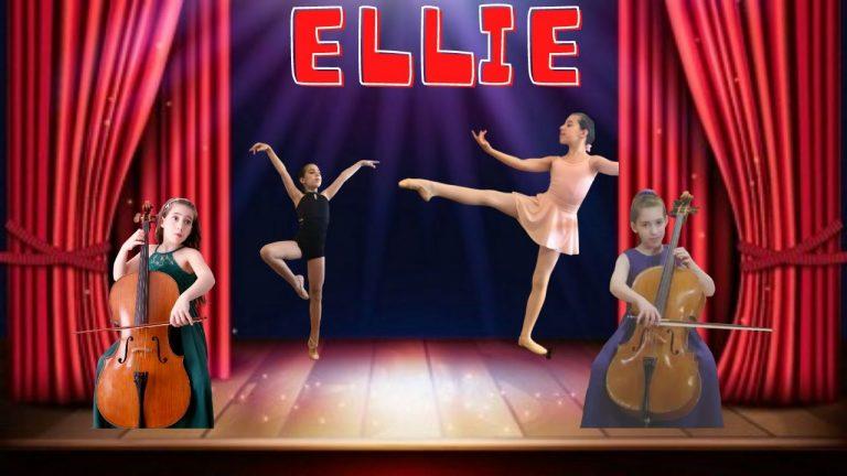 Cellist and Ballet Dancer